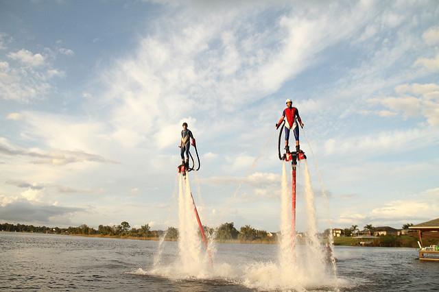 Try Flyboarding in Orlando