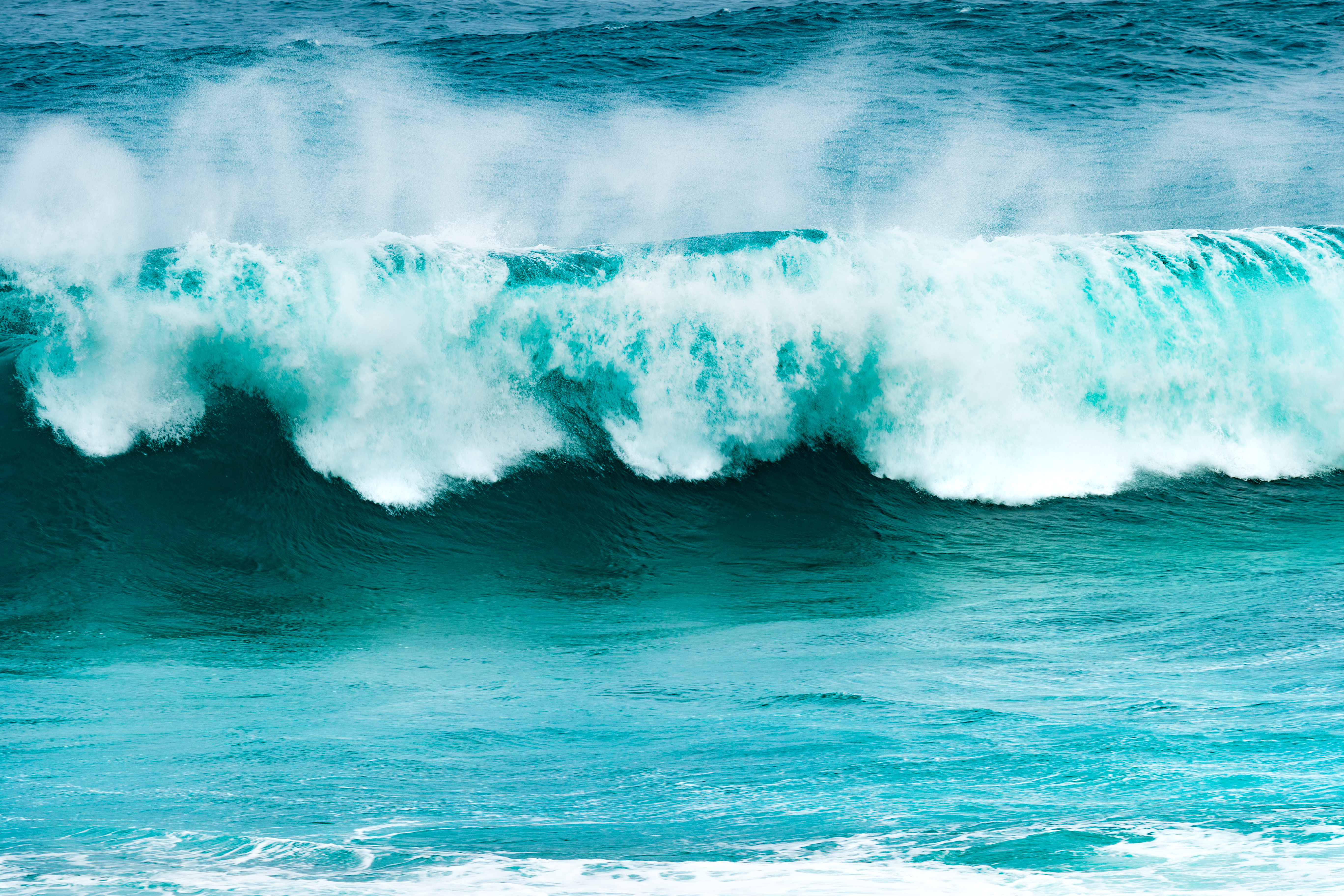 Big waves in Mauritius