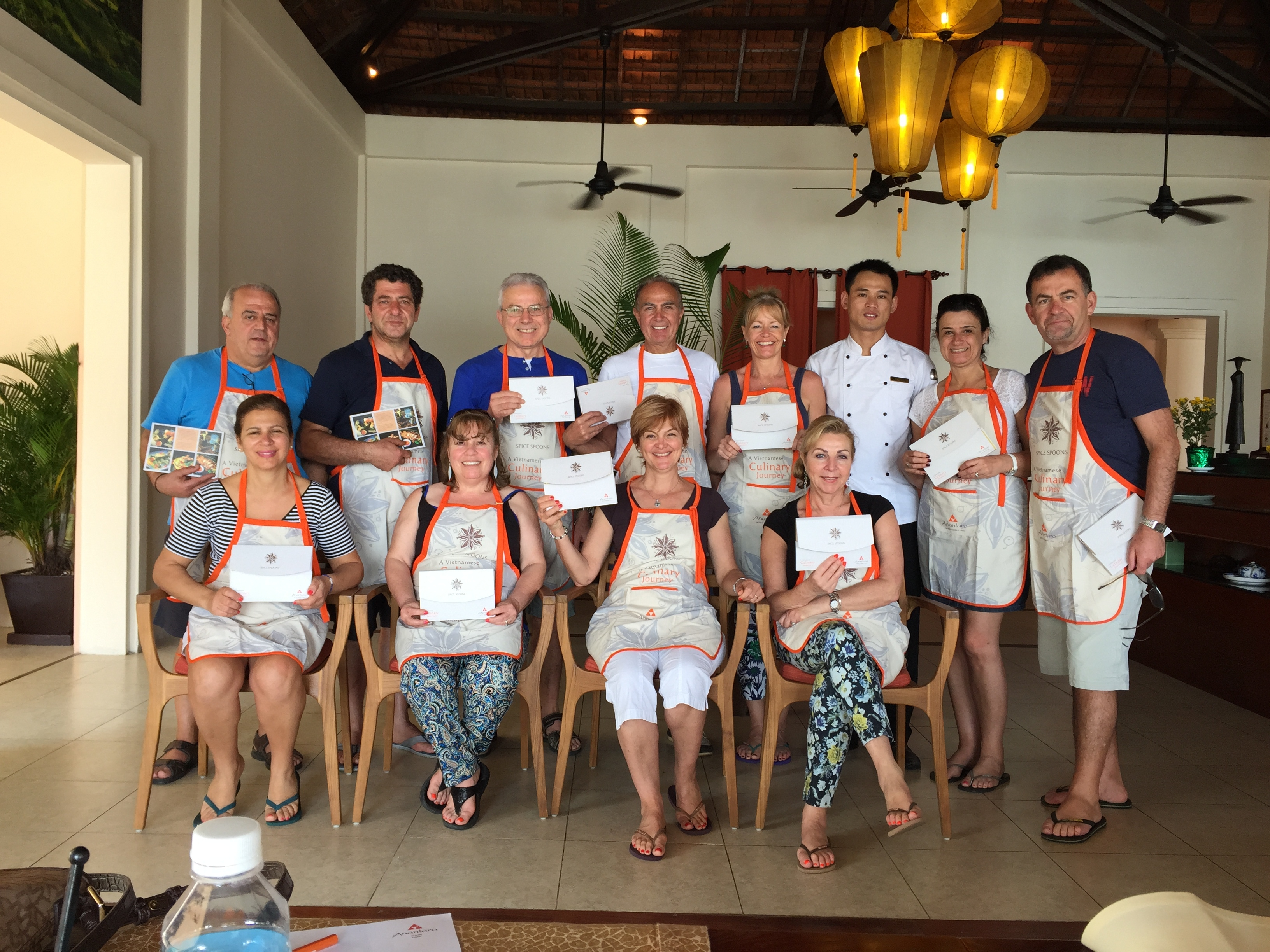 Cooking Lesson at Anatara Hotel Hoi An