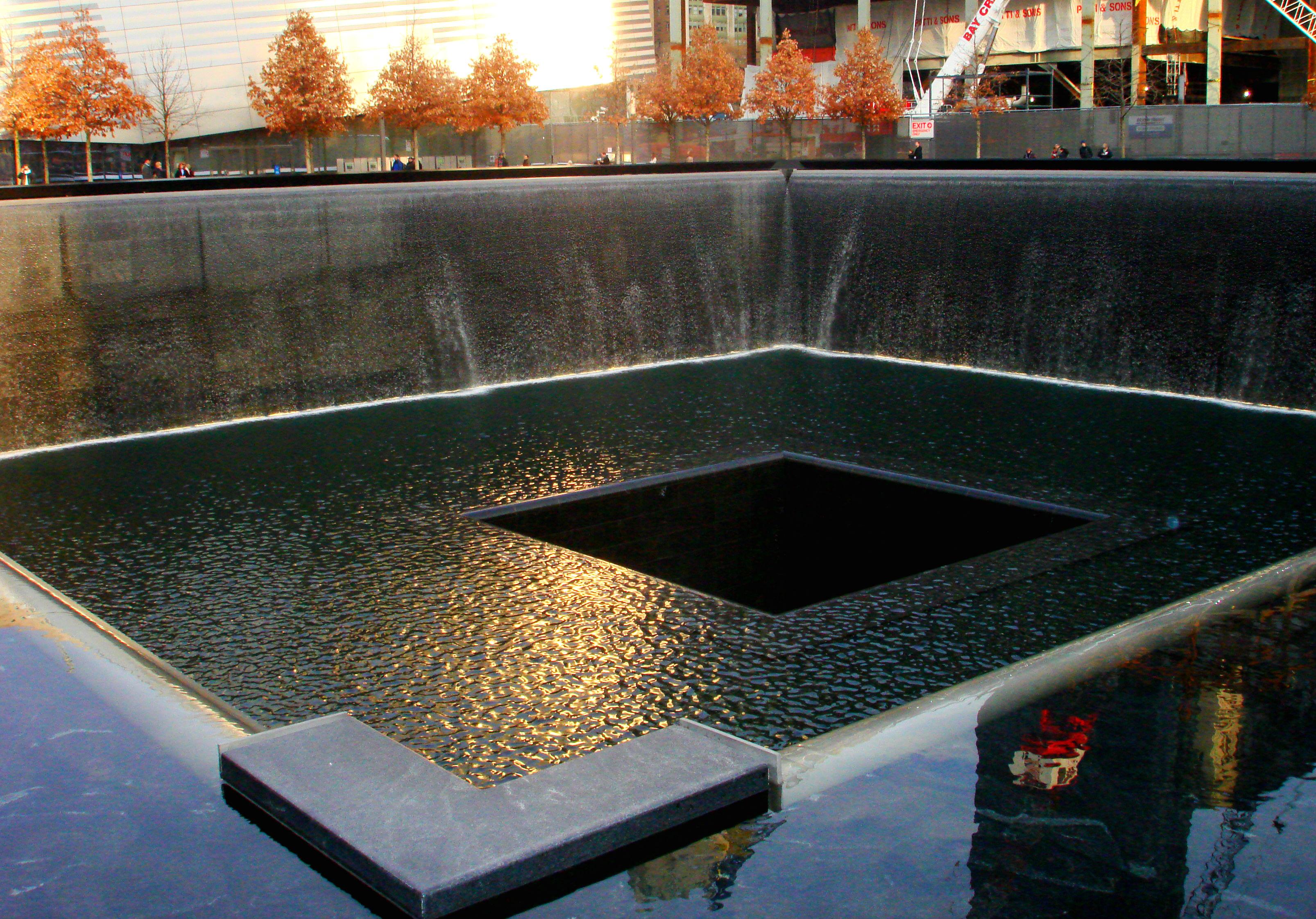 Budget luxury this christmas in new york - Ground zero pools ...