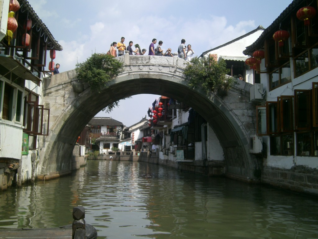 Zhujiajiao, a water village in Shanghai