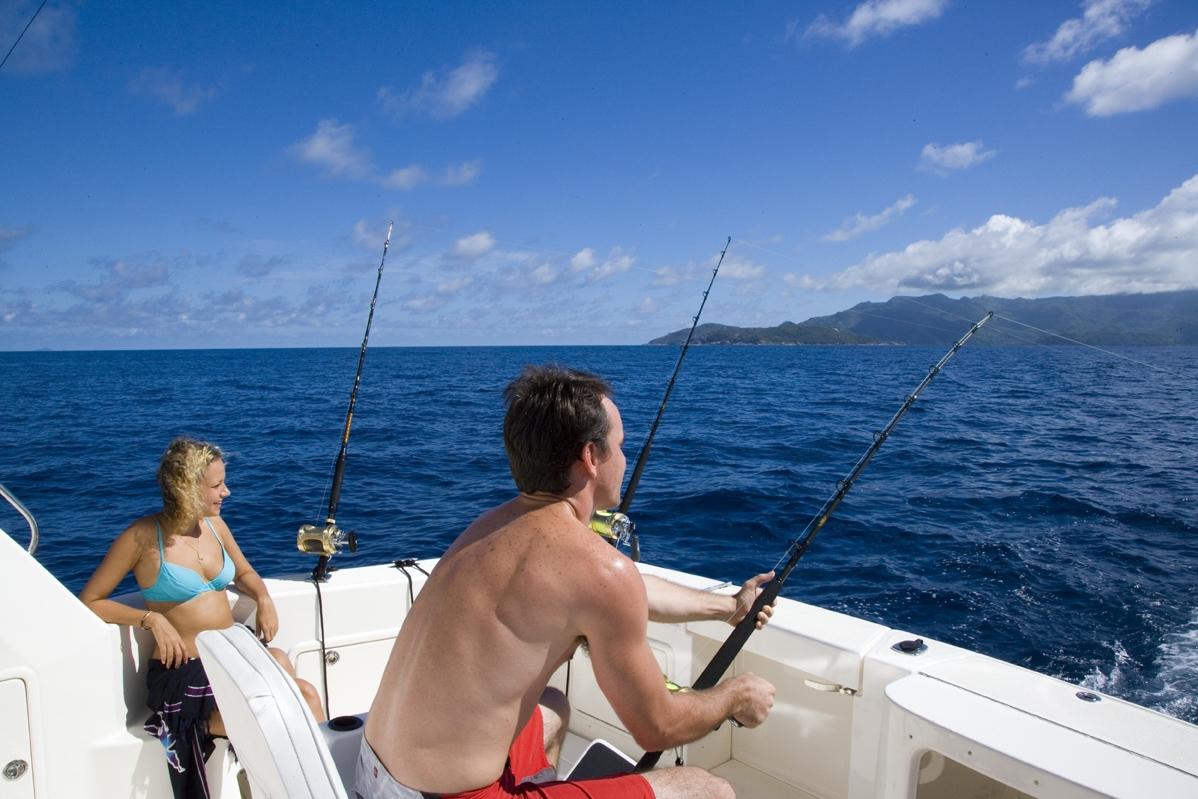 seychellesFishing boat